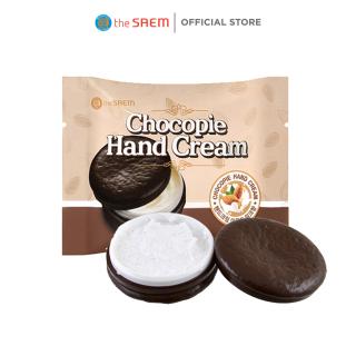 Kem dưỡng trắng da tay The Saem Chocopie Hand Cream Almond Milk (35ml) thumbnail