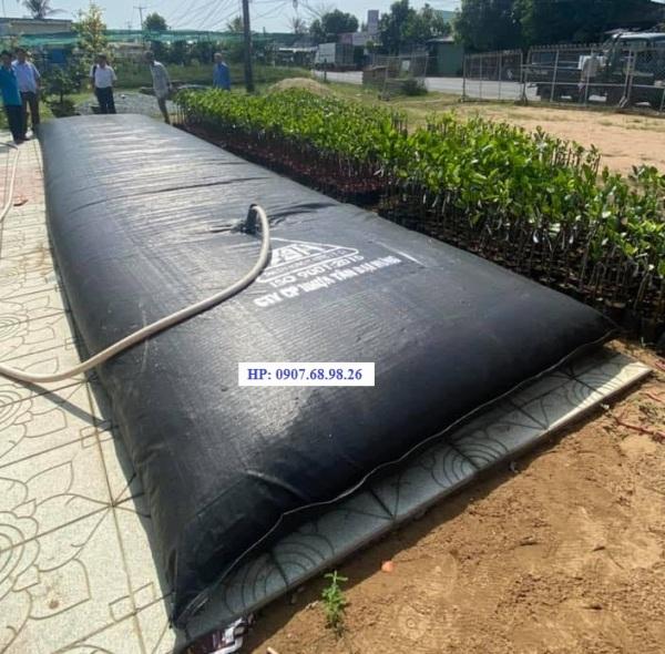 Túi trữ nước ngọt 15 khối (15m3) Tân Đại Hưng