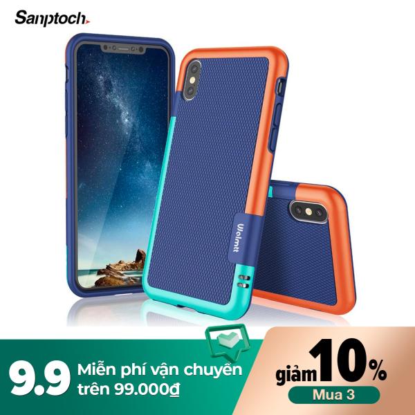 Giá Ốp Sanptoch Cho Iphone 11 Pro Max X Xs Max XR, Vỏ Bọc Điện Thoại 3 Màu Siêu Mỏng, Chống Trơn Trượt, Chống Sốc, Bằng Silocon TPU Mềm, Dành Cho Iphone 7 8 6 6S Plus
