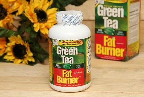 Viên uống giảm mỡ trà xanh Green Tea Fat Burner được nhập khẩu chính hãng USA Mỹ nhập khẩu