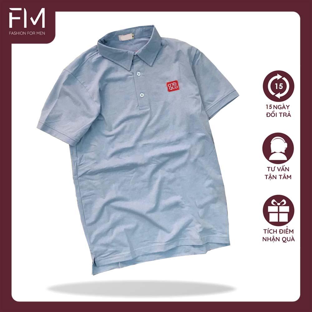 [HCM]Áo thun cổ bẻ thời trang thêu logo nổi cao Cấp - FORMEN SHOP - FMPS002