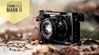 (CÓ SẴN) Ống kính 7Artisans 35mm F1.2 Mark II (đời 2) cho Fujifilm, Sony, Canon EOS M, Nikon Z và M4 3 thumbnail