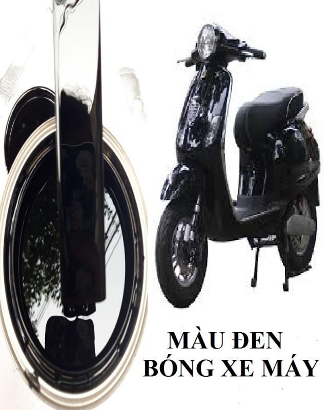 1 lạng sơn đen bóng xe máy 1 thành phần cho xe màu đen bóng sang trọng, quý phái bền đẹp