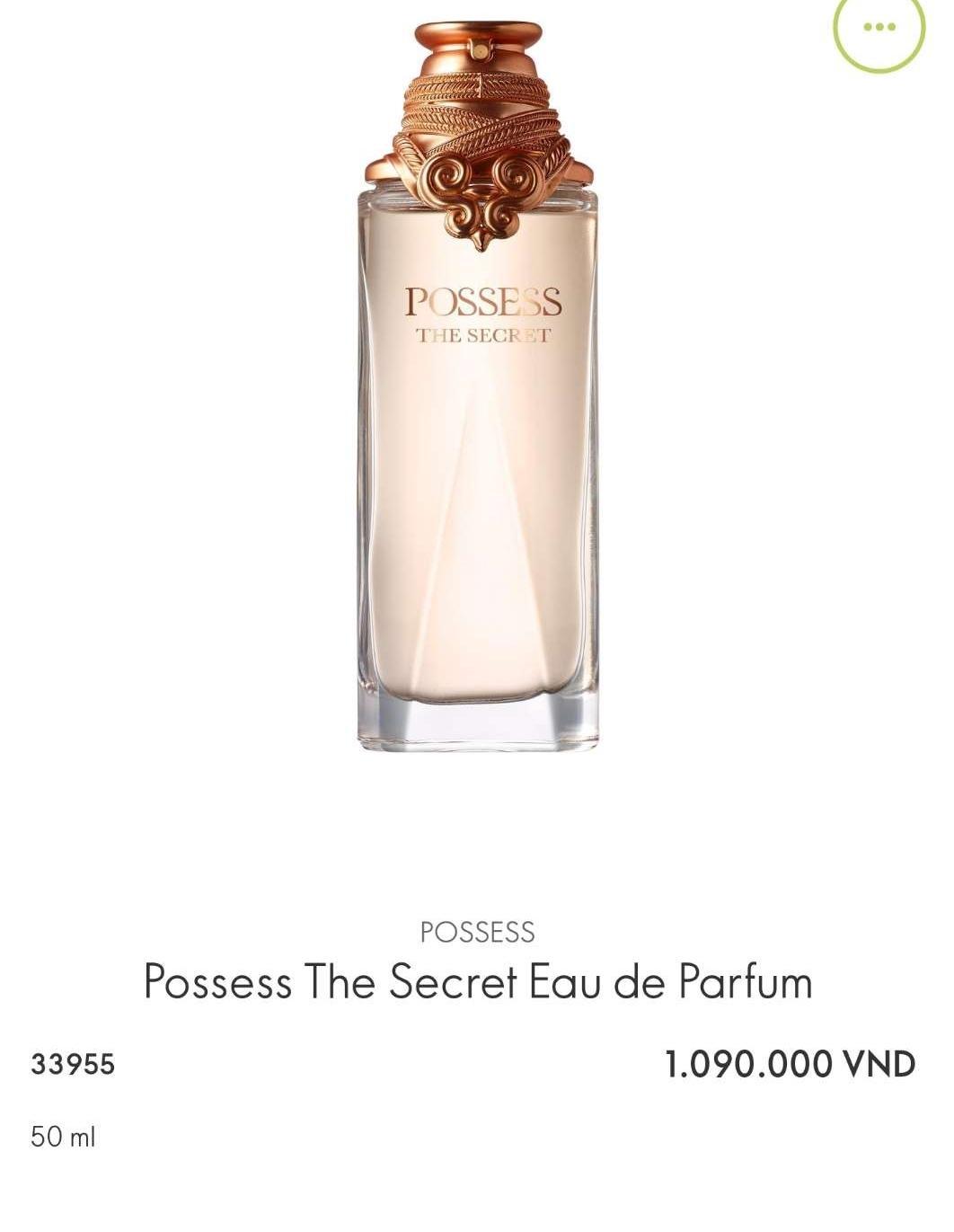NƯỚC HOA NỮ Possess_The Secret Eau de Parfum  33955