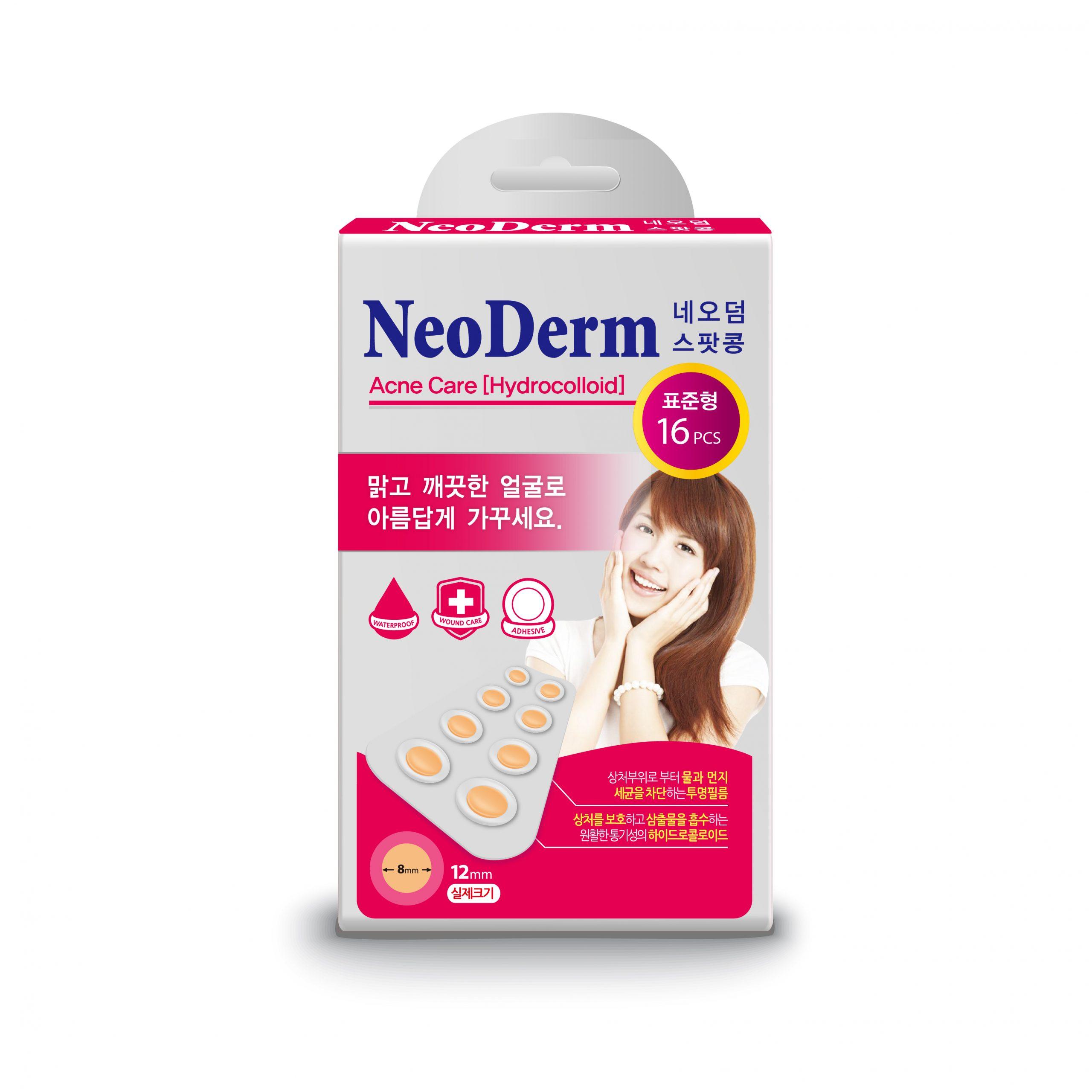 Miếng Dán Mụn Neoderm Ultra Thin Spot 16 (hộp 1 size - 16 miếng)