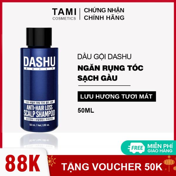 Dầu gội ngăn rụng tóc dành cho nam DASHU Anti - Hair Loss Scalp Shampoo Phục hồi tóc hư tổn Sạch gàu và ngứa dầu gội Hàn Quốc TM-DG01