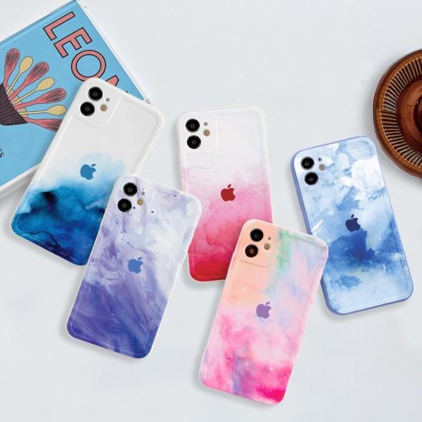 Ốp lưng iphone viền nổi bóng sắc màu 6/6plus/6s/6splus/7/7plus/8/8plus/x/xr/xs/11/12/pro/max/plus/promax