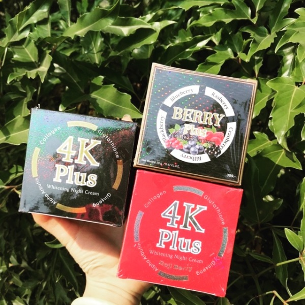 Kem Dưỡng Da Mặt 4K Plus & Berry Thái Lan giá rẻ
