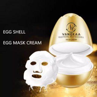 Mặt nạ nâng cơ xóa nhăn quả trứng vanekaa yeast royal jelly egg shell mask cream thumbnail