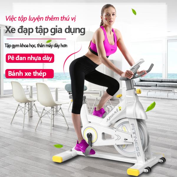 Xe đạp tập đa năng xe đạp tập gym tại nhà đa năng cản lực từ tính/ không từ tính chống mài mòn bàn đạp nhôm bánh xe thép dụng cụ tập gym đa năng Our shopping home