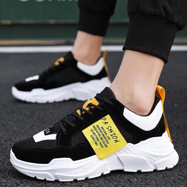 Giày thể thao nam sneaker tăng 5cm chiều cao Hót Trend 2020 - GN45 giá rẻ