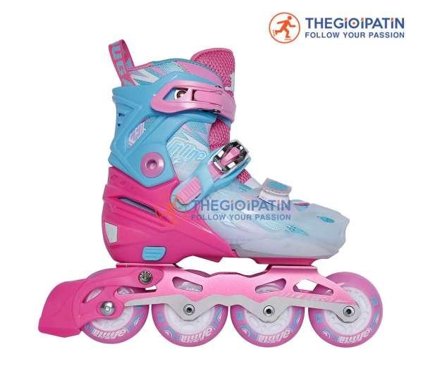 Mua [TẶNG ÁO CLB + FULL PHỤ KIỆN] Giày Patin Trẻ Em Cougar 333 - Giày trượt patin cho bé Cougar 333