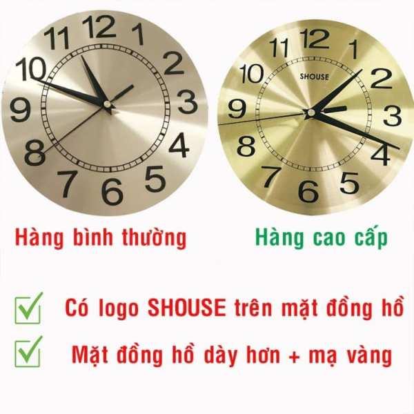Nơi bán Đồng hồ treo tường con chim công A68 thương hiệu Việt Nam chính hãng kim trôi hiện đại cao cấp nghệ thuật không gây tiếng động SEENSI