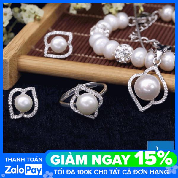 Bộ Trang Sức Ngọc Trai Cao Cấp BNJ0108 Bảo Ngọc Jewelry
