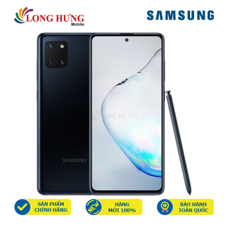 Điện thoại Samsung Galaxy Note 10 Lite (6GB/128GB) - Hàng chính hãng - Màn hình 6.7 inch Infinity-O Super AMOLED Full HD+, bộ 3 Camera sau, Bút ghi chú S-Pen