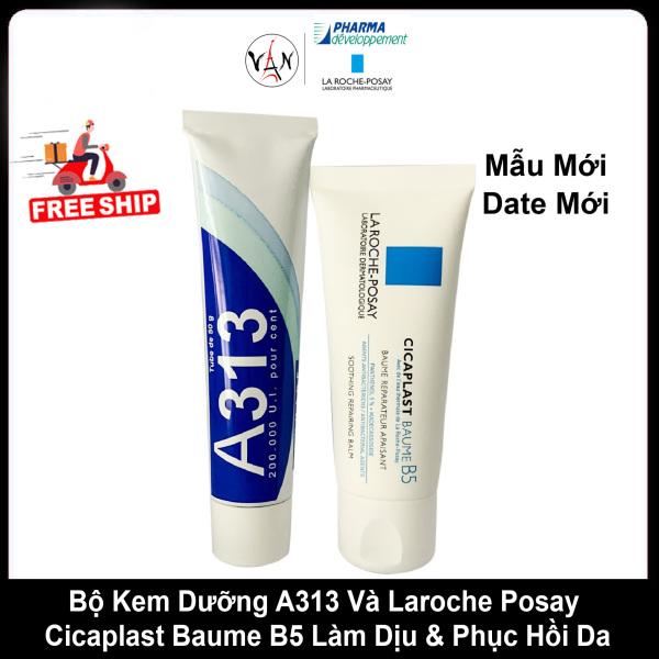 [ Combo A313+ B5] Bộ Kem A313 Và Laroche Posay Cicaplast Baume B5 Làm Dịu & Phục Hồi Da nhập khẩu