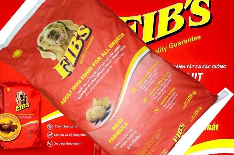 THỨC ĂN CHÓ LỚN FIBS 20kg