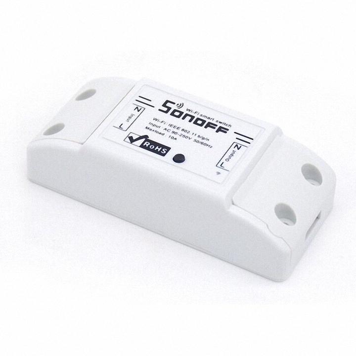 [SIêu Siêu Hot ] Tên sản phẩm : Thiết bị điều khiển thông minh (Sonoff  Basic Wifi smart Switch).