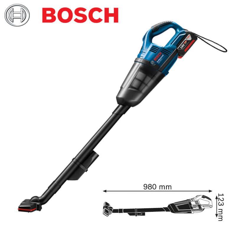 Máy hút bụi dùng pin Bosch GAS 18V-Li Professional + quà tặng áo mưa