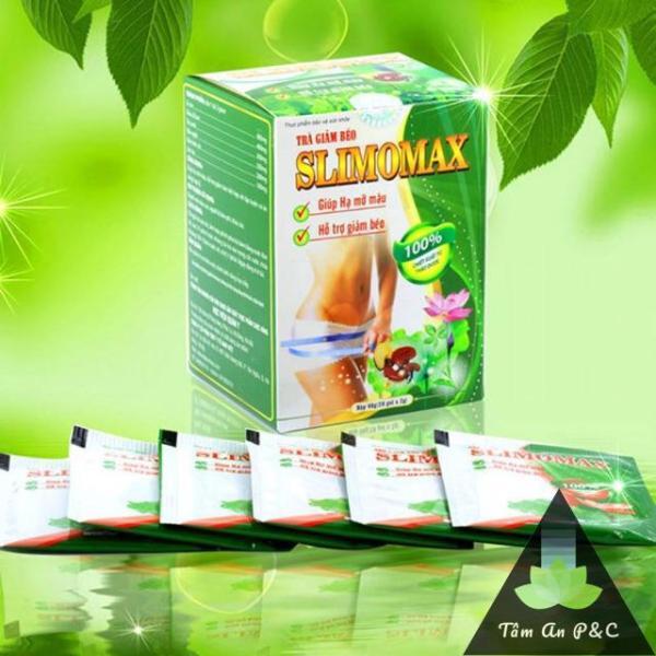 Trà Giảm Cân, Giảm mỡ máu Slimomax sản xuất bởi Học Viện Quân Y ( hộp 20 gói ) nhập khẩu