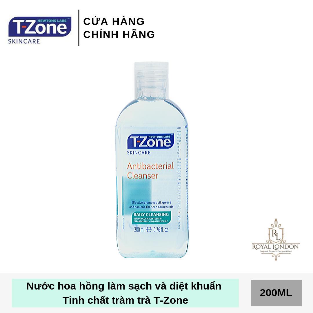 Toner Làm Sạch, Diệt Khuẩn Tinh Chất Tràm Trà T-Zone 200ml Giá Quá Ưu Đãi