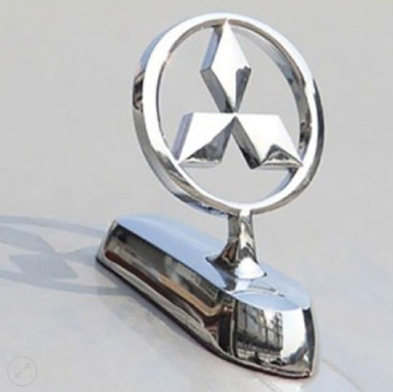 Huy hiệu Logo Cao Cấp hãng xe Mitsubishi gắn nắp capo