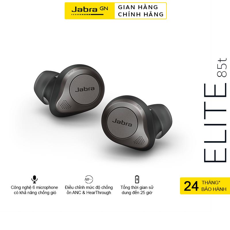 [Voucher + Hỏa Tốc + Trả Góp 0%] Tai Nghe True Wireless JABRA ELITE 85T l Chống ồn chủ động ANC - Hàng Chính Hãng