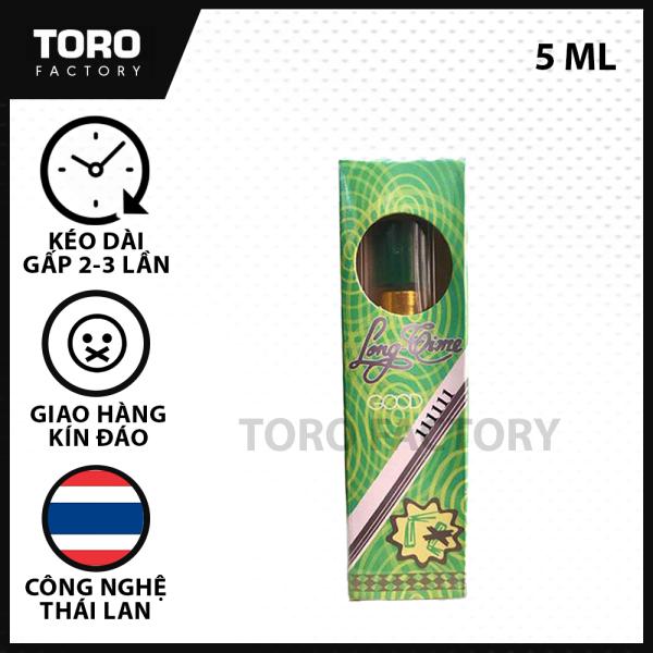(5ml) Chai xịt Thái lan Longtime - Tinh chất kéo dài thời gian quan hệ, hỗ trợ xuất tinh sớm -  [TORO FACTORY] giá rẻ