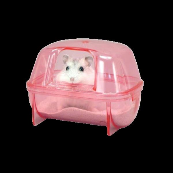 (Rẻ Vô Địch) Nhà tắm hamster nhỏ ( LOẠI TỐT)
