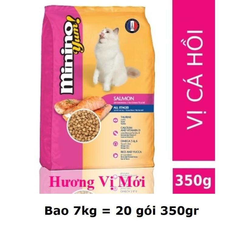 [HCM]HCM- (Bao lớn 15kg và 7kg)- Minino Thức ăn viên cao cấp cho mèo mọi lứa tuổi (bao 32 gói và bao 20 gói)