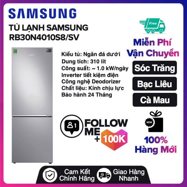 Bảng giá Tủ lạnh Samsung Inverter 310 lít RB30N4010S8/SV Miễn phí vận chuyển nội thành Sóc Trăng, Bạc Liêu, Cà Mau Điện máy Pico