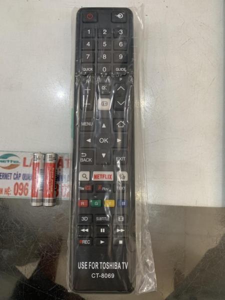 Bảng giá Remote TiVi điều khiển Tivi TOSHIBA LCD/LED smart giá tốt