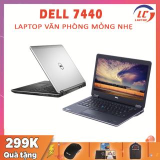 Laptop Văn Phòng Gọn Nhẹ, Laptop Giá Rẻ Dell Latitude 7440, i7-4600U, VGA Intel HD 4400, Màn 14 FullHD IPS, Laptop Gaming thumbnail