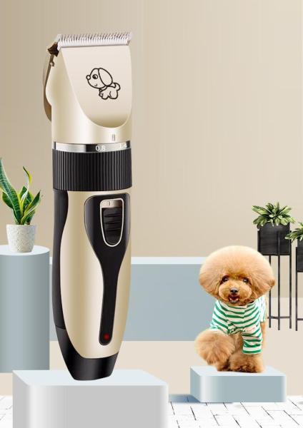 Tông đơ cắt tỉa lông thú cưng Hanpet USB6800 (màu ngẫu nhiên)  có cổng sạc USB tiện dụng máy cắt lông chó mèo / tông đơ máy cắt tóc / tông đơ máy sạc điện cắt lông mèo / tông đơ pin sạc