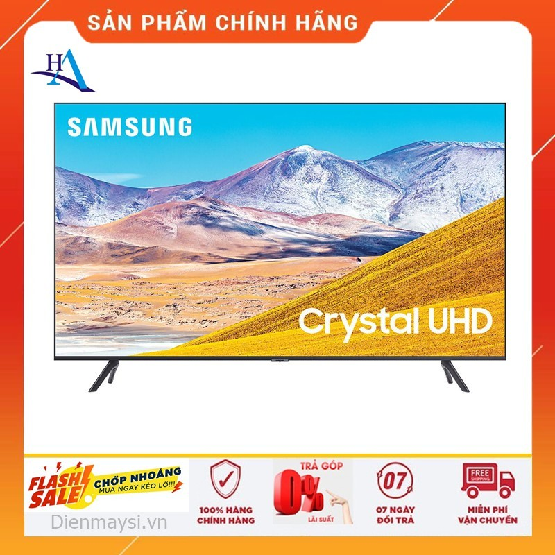 [HCM]Smart Tivi Samsung 4K 55 inch UA55TU8100 (Miễn phí giao tại HCM-ngoài tỉnh liên hệ shop) chính hãng