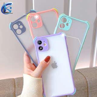 Ốp Điện Thoại Cao Cấp Ốp Lưng Silicone Cạnh Mềm Trong Suốt Chống Va Đập Dành Cho iPhone 6 6s 7 8 Plus SE 2020 Ốp lưng thumbnail