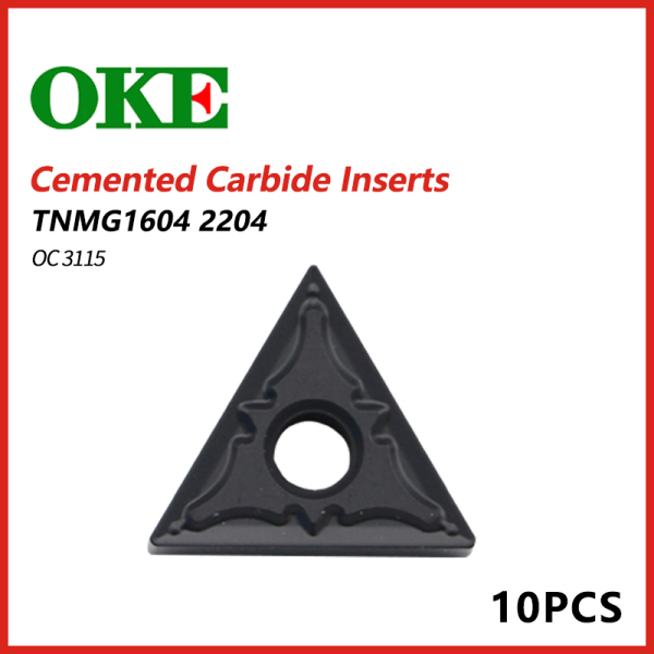 OKE Cemented Carbide Inserts TNMG 1604/2204 2125 22