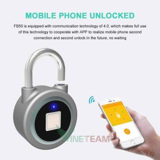 Khóa Cửa Điều Khiển Từ Xa, Ổ Khóa Chống Trộm Bằng Vân Tay. Ổ khoá cửa VÂN TAY - Bluetooth CAO CẤP mở bằng smartphone cao cấp, khóa thông minh,an toàn, hiện đại. thumbnail