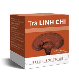 Trà Linh Chi, 20 túi lọc (Reishi Mushroom, 20 teabags) thumbnail