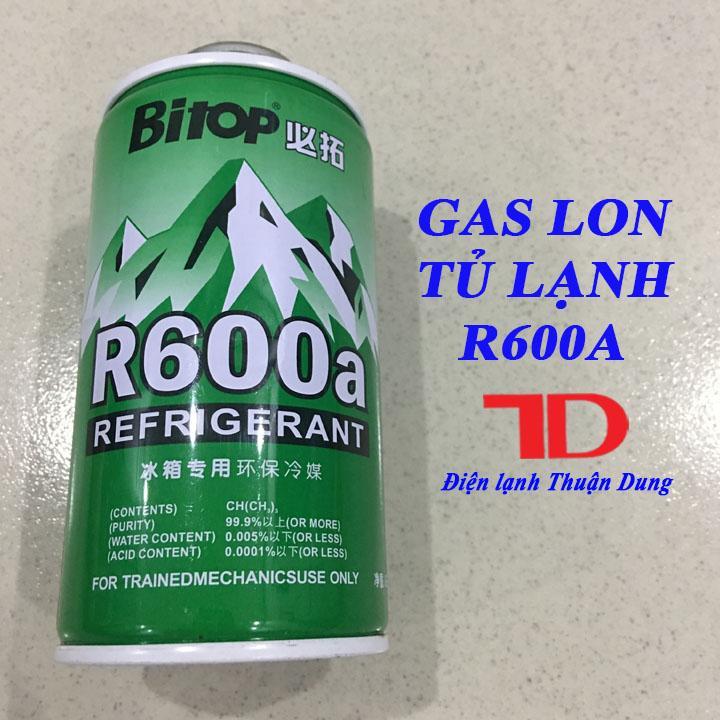 Gas lon Tủ Lạnh 600A 120g