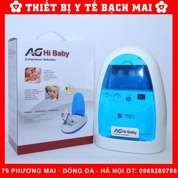 Máy Xông Hút Mũi 2 Trong 1 AG Hi Baby [Bảo Hành 08 Năm]