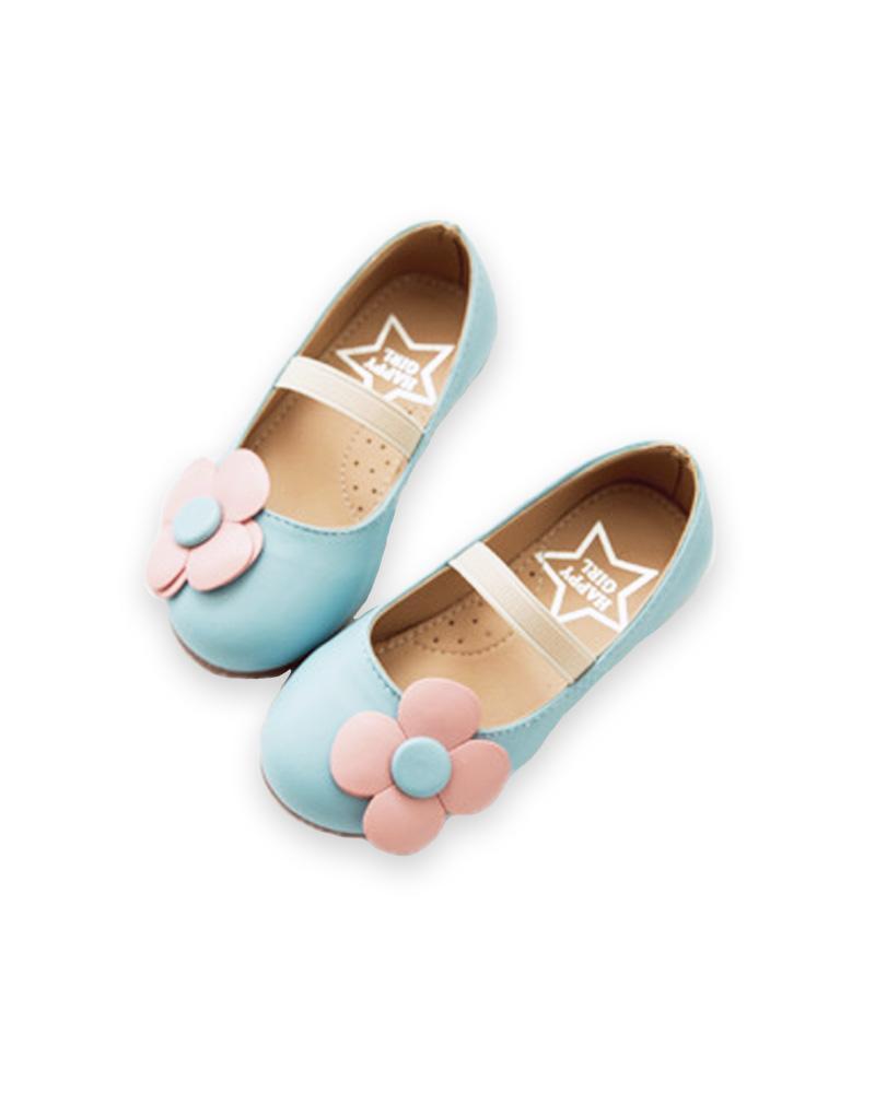 Giá bán Giày lười cho bé gái 2 – 4 tuổi tone màu pastel đáng yêu – G11