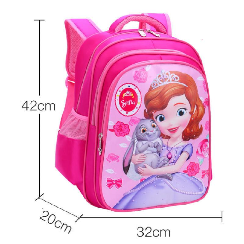 Giá bán Balo học sinh 3 ngăn lớn siêu nhẹ với thiết kế dễ thương (42cm X 32cm X 20cm) - QC184