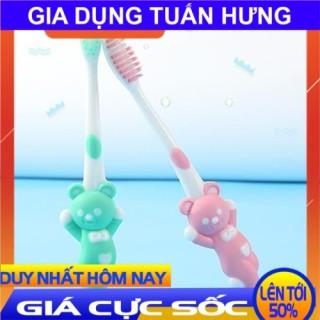 [ CÓ VIDEO - ẢNH THẬT ] Set 4 bàn chải đánh răng trẻ em hình thú, Set 4 Bàn Chải Đánh Răng Cho Bé xuất Nhật, bàn chải đánh răng cho bé thumbnail
