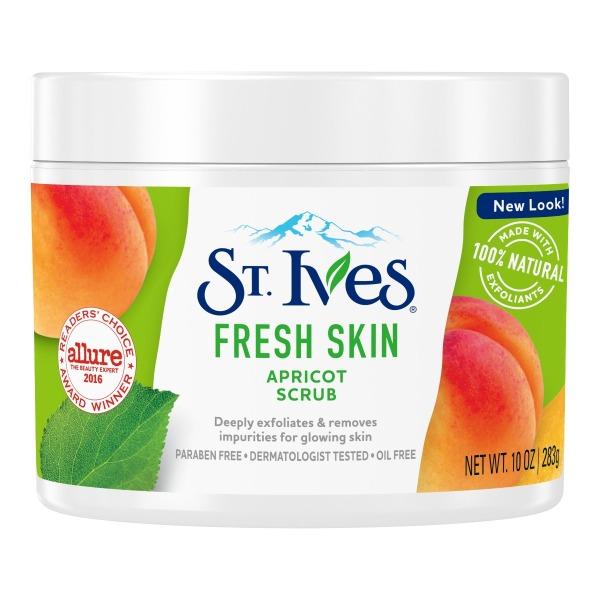 Tẩy Da Chết Cho Mặt Và Toàn Thân St.Ives Apricot Scrub 283g cao cấp