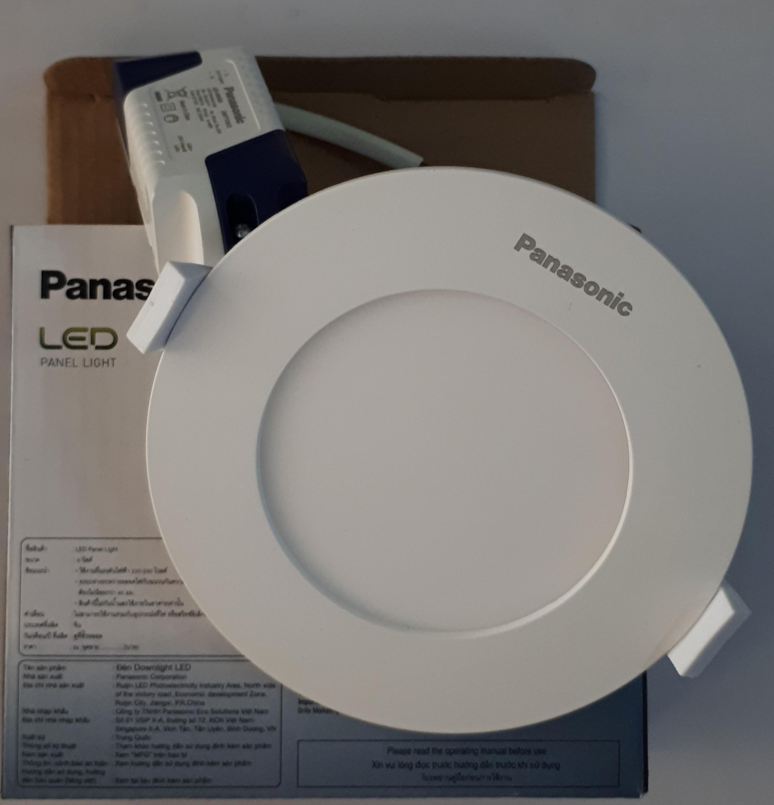 Đèn Downlight âm Trần 6W Panasonic Giá Tốt Không Nên Bỏ Qua