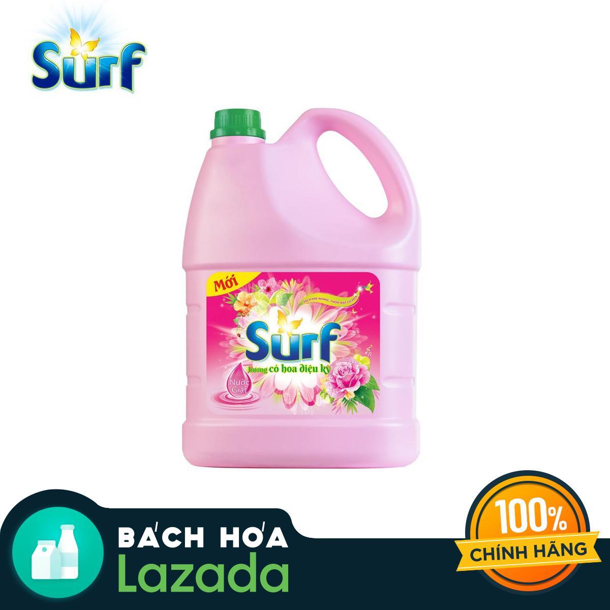 Nước giặt Surf hương hoa cỏ diệu kì 3.8kg