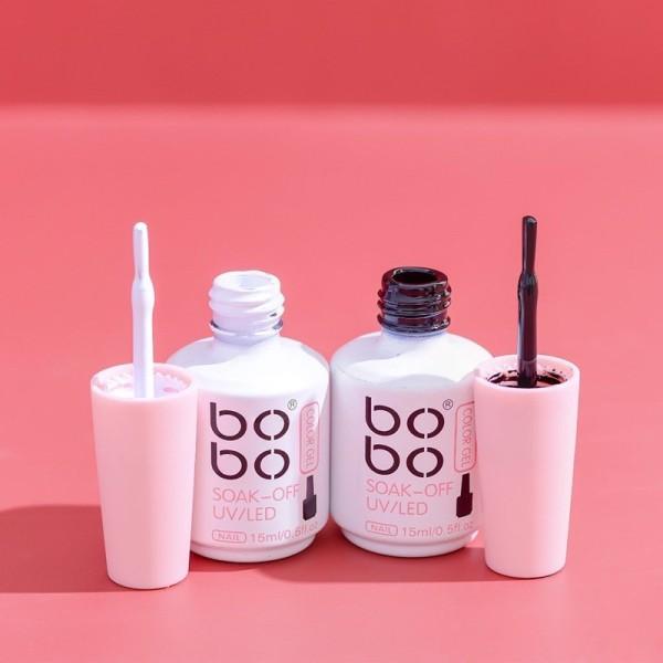 Sơn gel đen trắng Bobo chính hãng lên màu chuẩn (15ml)