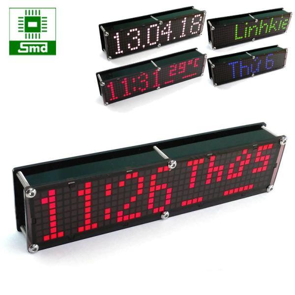 Đồng hồ LED Matrix 8x40 V2
