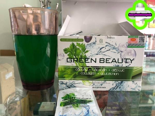 [full box ] Nước Ép Cần Tây Green Beauty thẻ bảo hành